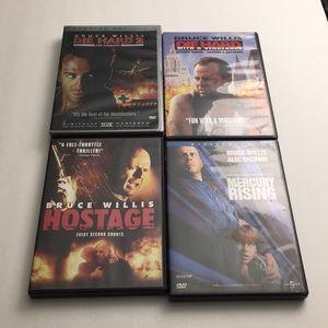 Bruce Willis DVD Movie Bundle